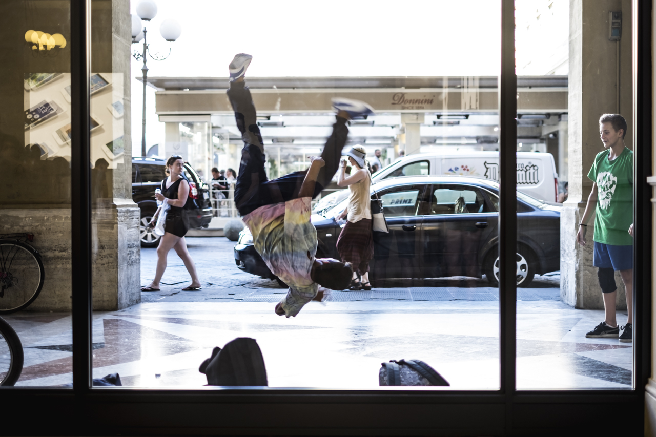 Breakdance en Florencia / Zaragoza Walkers