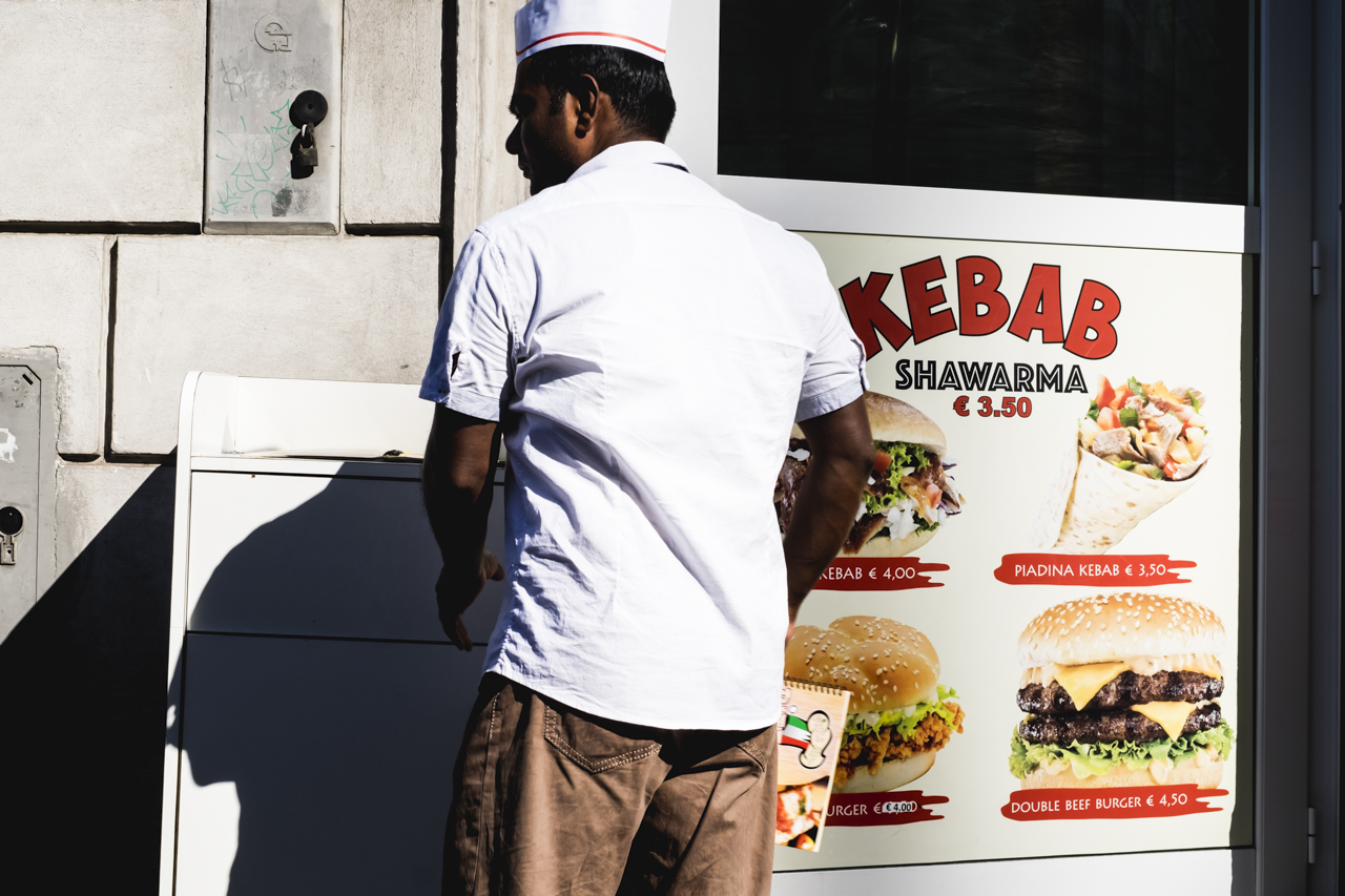 Kebab en Roma / Zaragoza Walkers