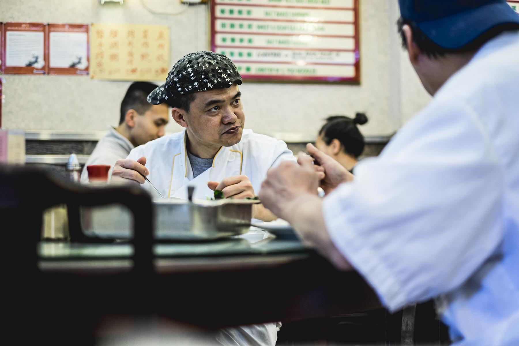 Restaurante Streetphotography New York / Zaragoza Walkers