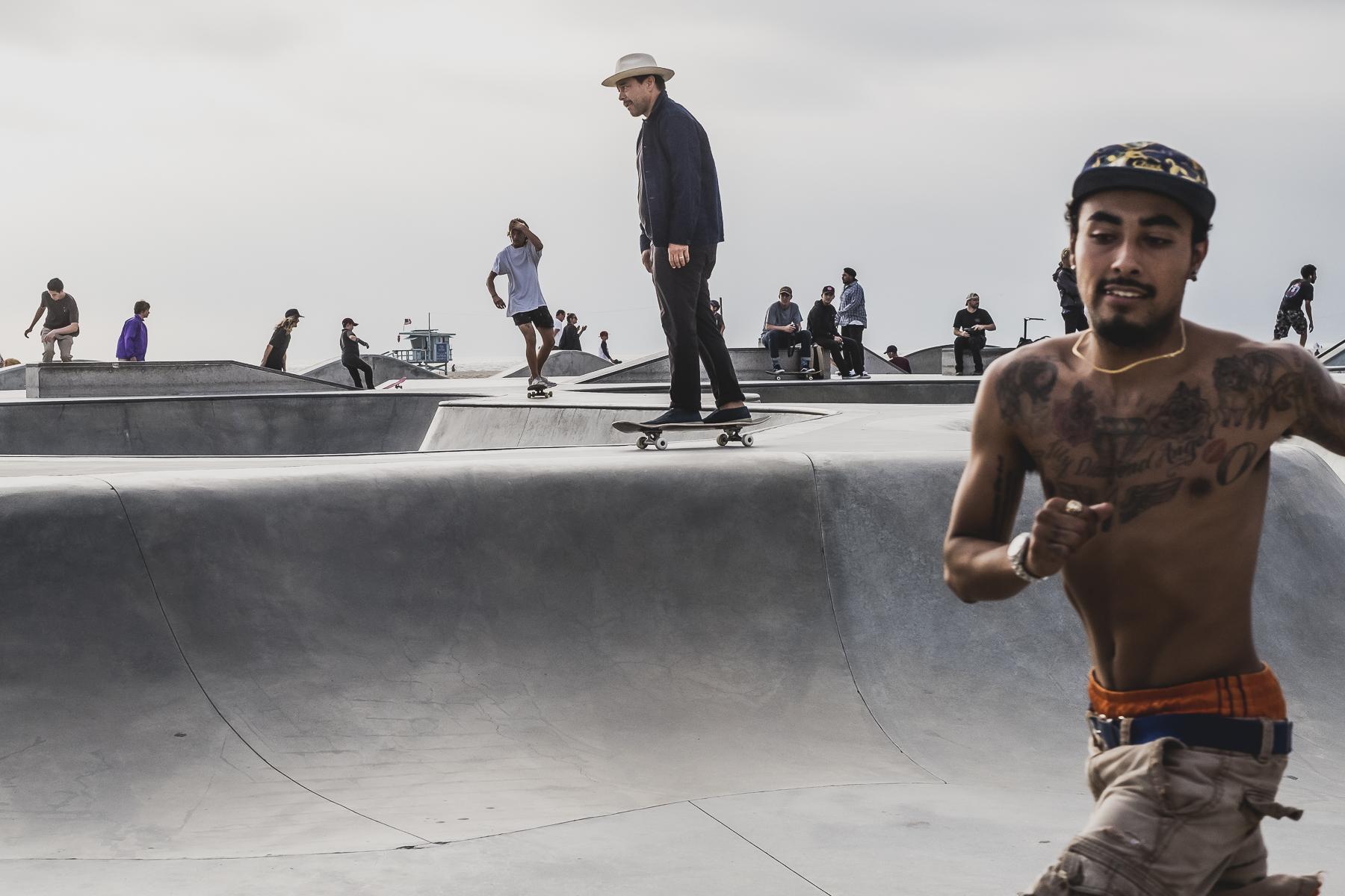 Streetphotography Skaters Los Ángeles, Venice Beach / Zaragoza Walkers