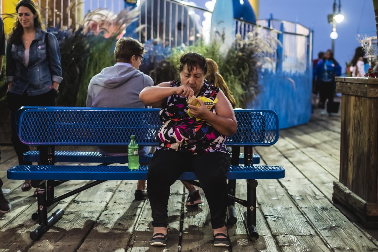 Santa Mónica / Streetphotography / Zaragoza Walkers